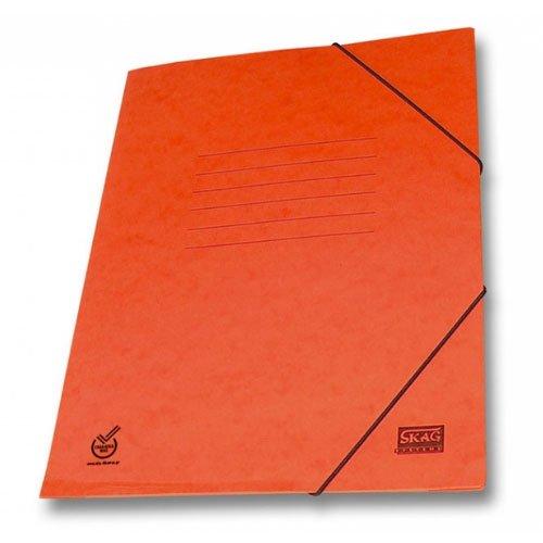 Ντοσιέ Skag Πρέσπαν Χάρτινο Με Λάστιχο Πορτοκαλί
