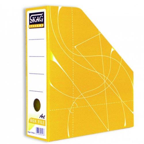 Θήκη Περιοδικών χάρτινη Skag Box File Κίτρινο