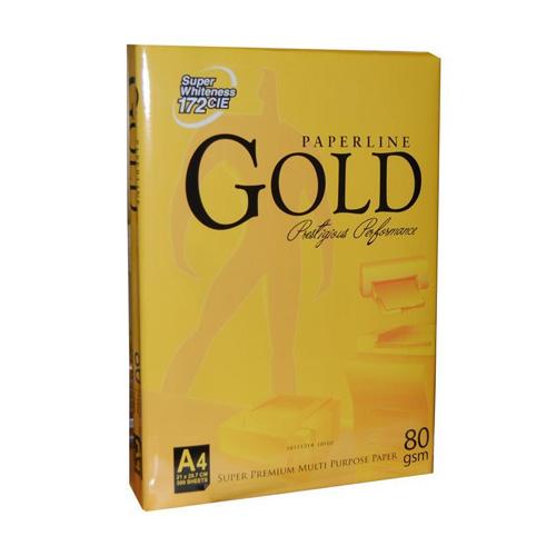 Gold Paperline A4 80γρ. 500φ. Super Premium copy paper