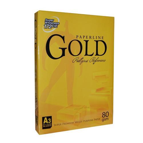 Gold Paperline A3 80γρ. 500φ. Super Premium copy paper