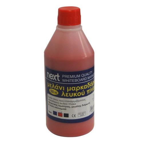 Μελάνι Για Μαρκαδόρο Πίνακα Κόκκινο 500 ml