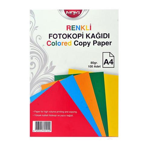 Χαρτί Α4 80gr Διάφορα Χρώματα Δεσμίδα 100Φ