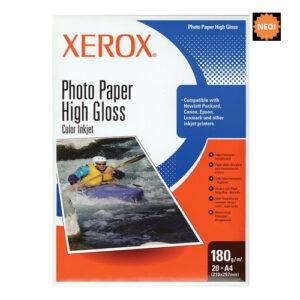 Xerox Φωτογραφικό high gloss A4 180gr 20φ.