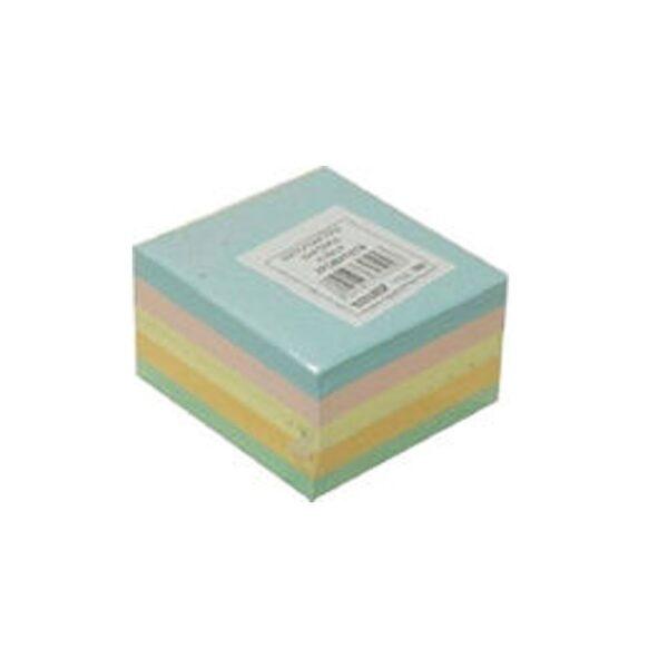Κύβος Χρωματιστά Φύλλα 9*9Cm