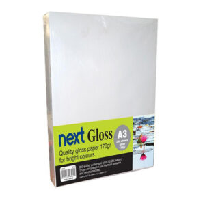 Next Gloss A3 170γρ. premium gloss paper 250φ.