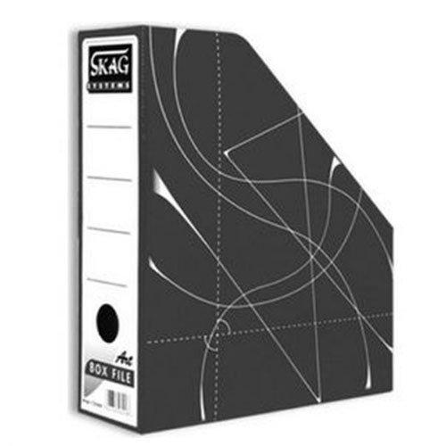 Θήκη Περιοδικών χάρτινη Skag Box File Μαύρο