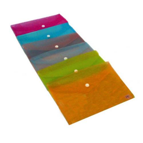 Ντοσιέ Με Κουμπί Πλαστικό  Α5 Μix Χρώματα