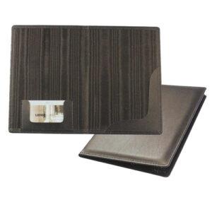 Θήκη Για Λογαριασμό Εστιατορίου 14,5×21εκ. Μαύρη Γνήσιο Δέρμα