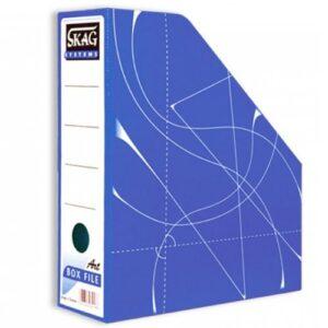 Θήκη Περιοδικών χάρτινη Skag Box File Μπλε