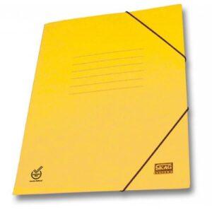 Ντοσιέ Skag Πρέσπαν Χάρτινο Με Λάστιχο Κίτρινο