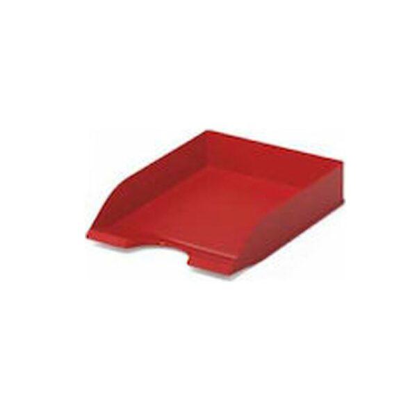 Δίσκος γραφείου πλαστικός κόκκινος