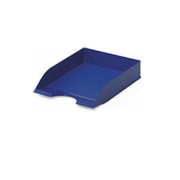 Δίσκος γραφείου πλαστικός μπλέ