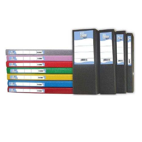 Κουτί Αποθήκευσης Εγγράφων Fiber (Με Λάστιχο) 8cm
