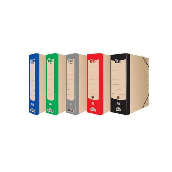 Κουτί Αποθήκευσης Eγγράφων Οικολογικό (με λάστιχο) 3cm