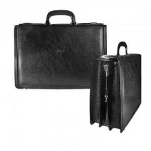 Δερμάτινη Τσάντα Επαγγελματική 44x12x30εκ.Μαύρη
