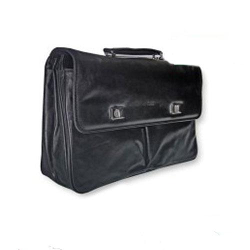 Δερμάτινη Τσάντα Επαγγελματική 31x31x13εκ.Μαύρη